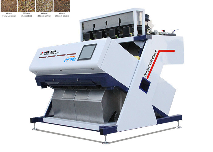 High Frequency Wheat Color Sorter Machine 5400Pixel CCD Image Acquisition System